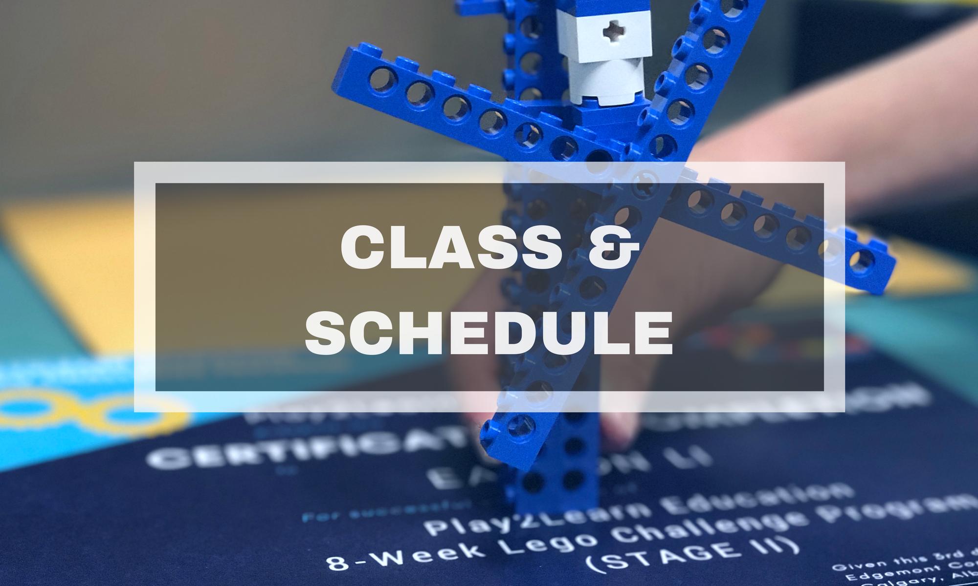 Class & Schedule